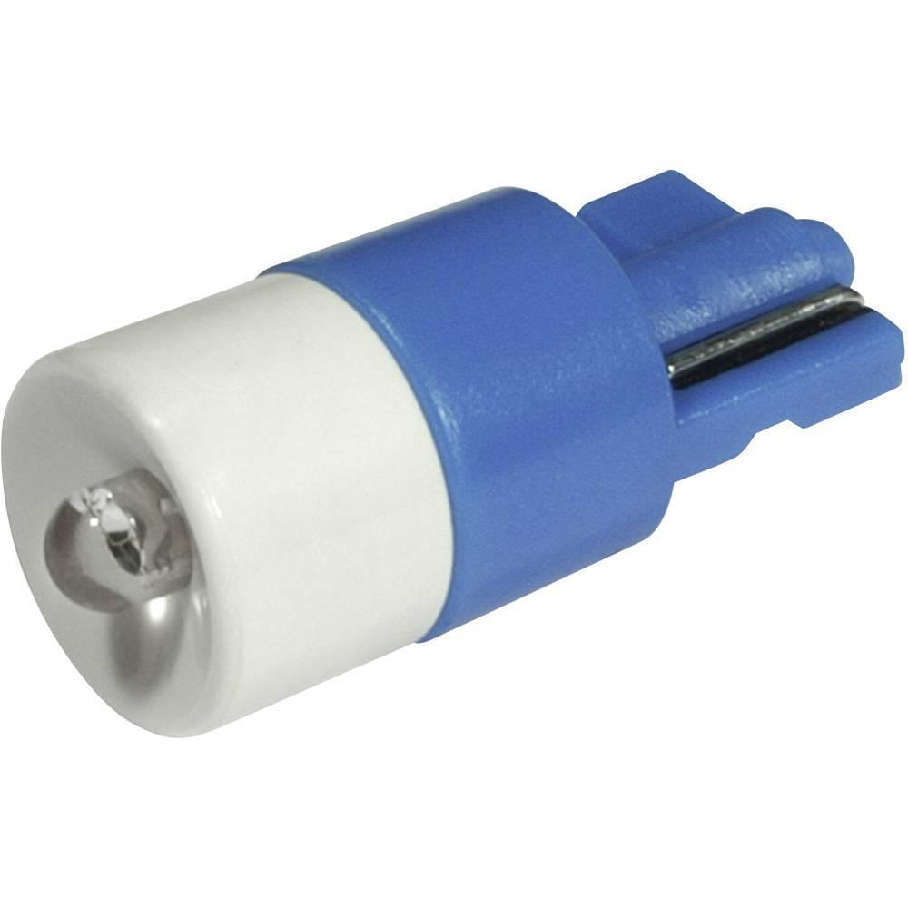 LED-diode CML W2,1x9,5d 24 V/DC, 24 V/AC 650 mcd Blå
