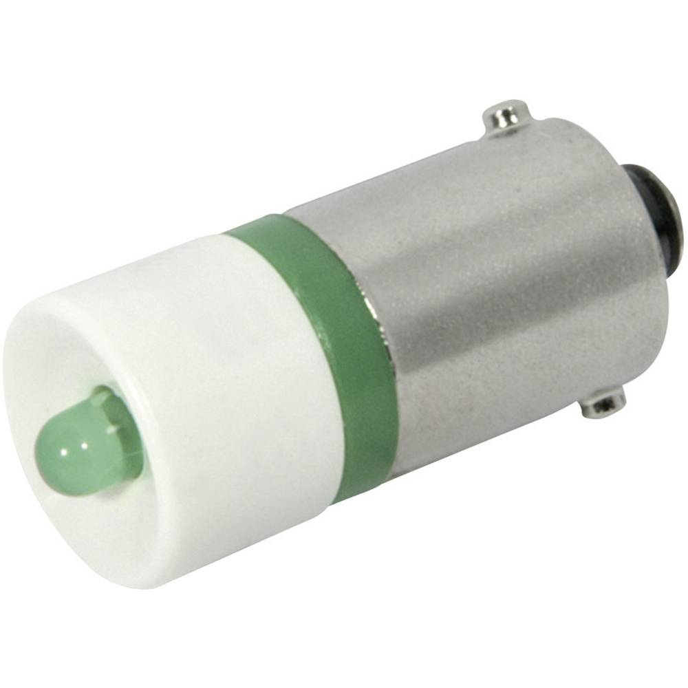 LED žarnica BA9s zelena 12 V/DC, 12 V/AC 2400 mcd CML 18602251