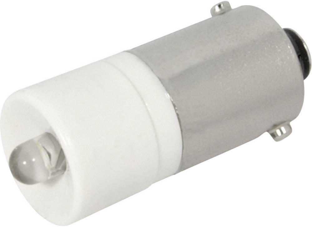 LED žarnica BA9s topla bela 230 V/AC 270 mcd CML 1860623L3