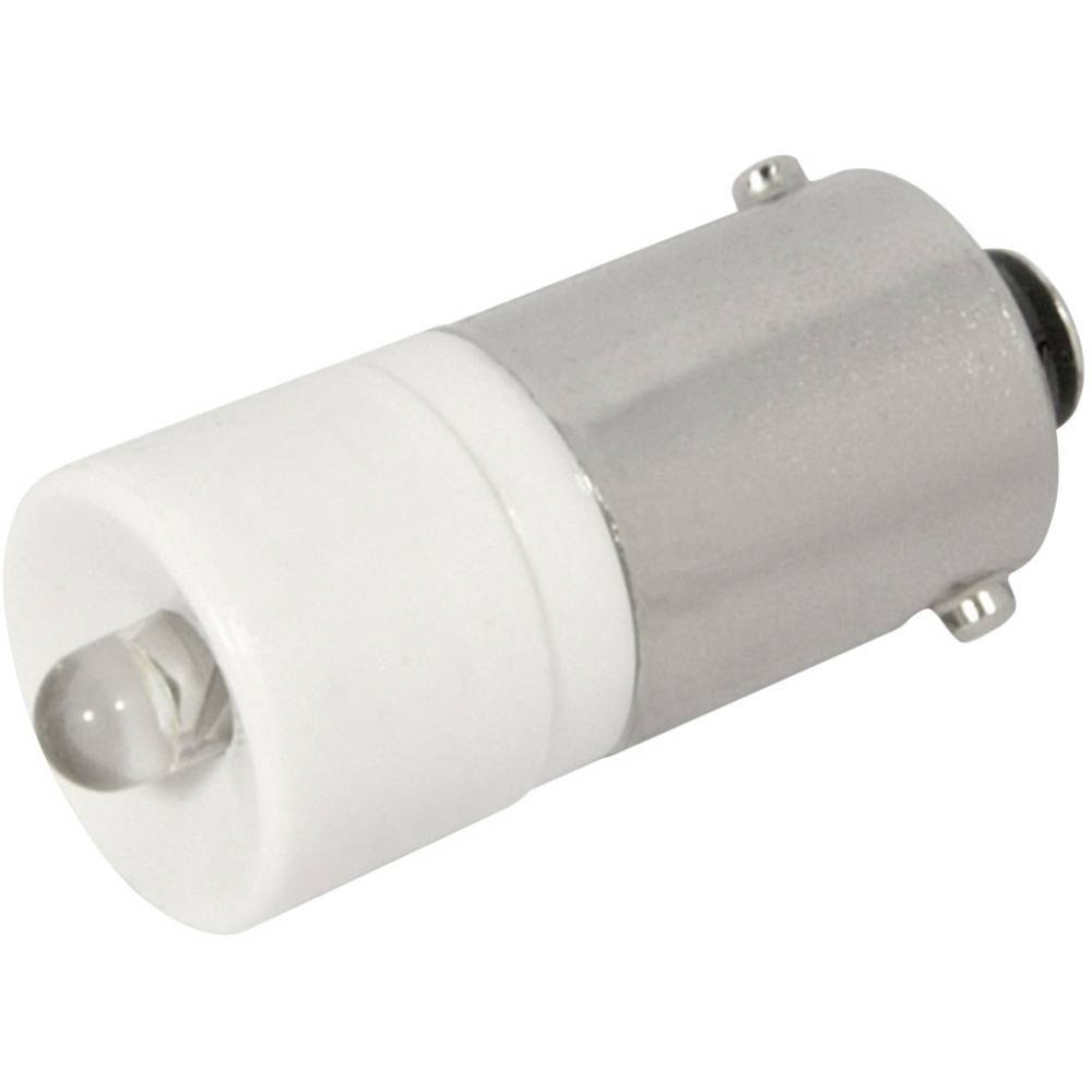 LED žarnica BA9s hladno bela 12 V/DC, 12 V/AC 2400 mcd CML 1860225W3