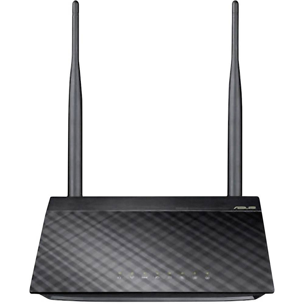 WLAN-Router 2.4 GHz 300 MBit/s Asus RT-N12E 90-IG29002M01-3PA0-