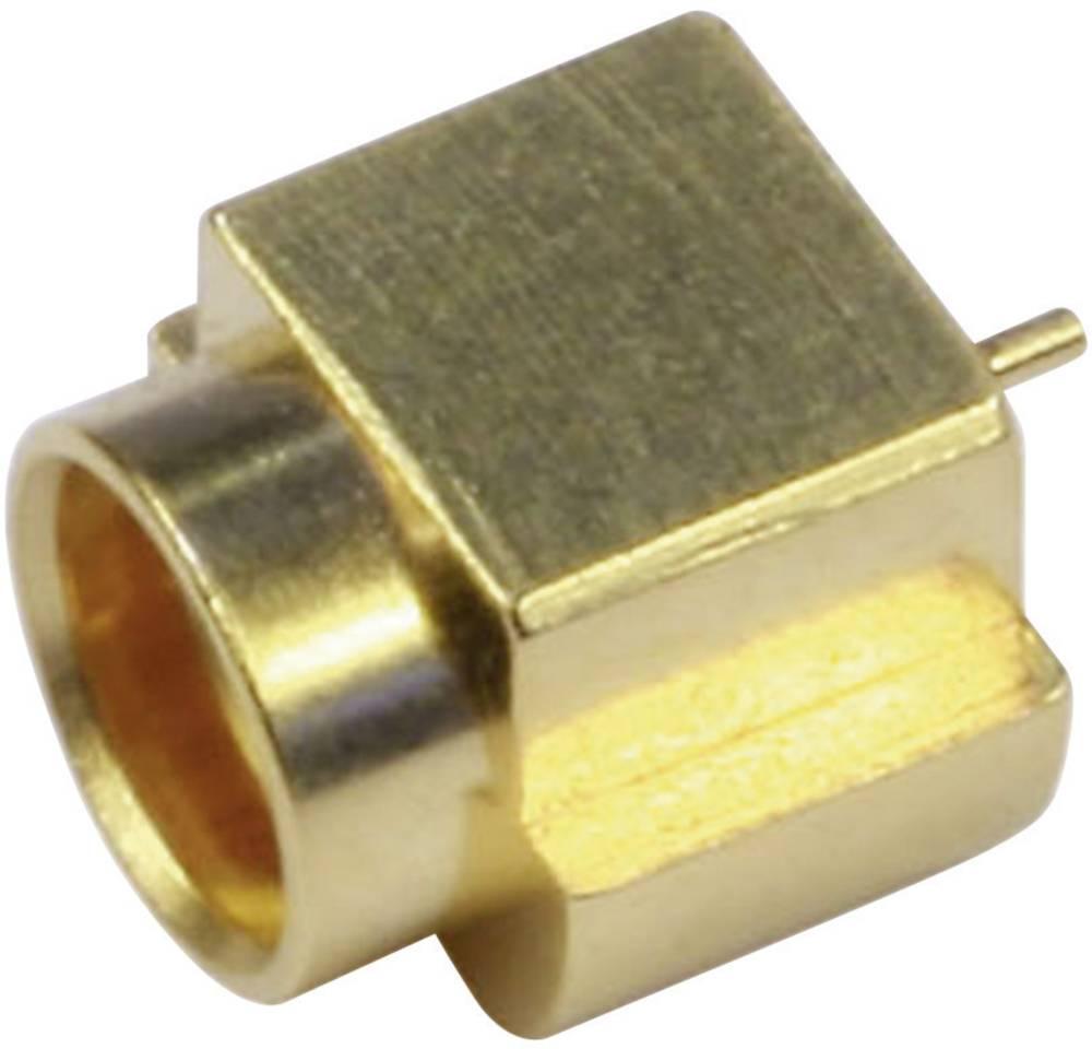 MMCX-stikforbindelse Telegärtner J01341A0081Y 50 Ohm Tilslutning, indbygning lodret 1 stk