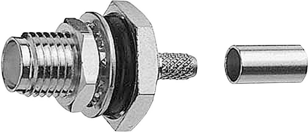 R-SMA-stik Telegärtner J01151R0011 50 Ohm Tilslutning, lige 1 stk