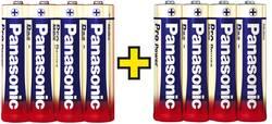 Batteri R6 (AA) Alkaliskt Panasonic Pro Power 4+4 gratis 1.5 V 8 st