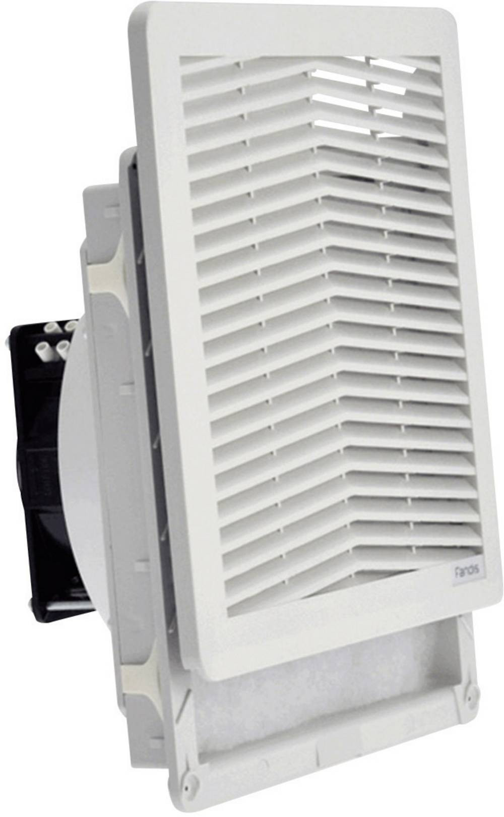 FF15PA230UF Fandis 230 V/AC 18 W (B x H x T) 250 x 250 x 102.9 mm