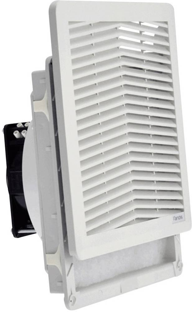 Ventilator s filterom Fandis FF15PA230UF (Š x V x D) 250 x 250 x 102.9 mm 230 V/50 - 60 Hz 18/17 W