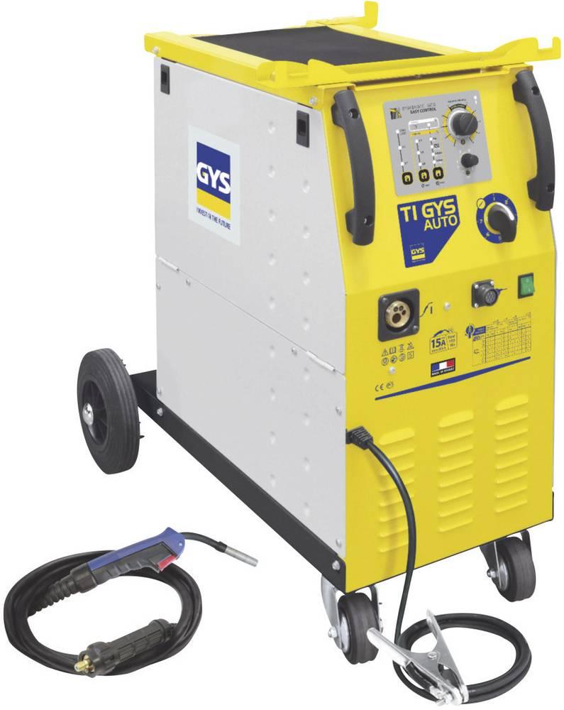 GYS trifazni zaščitni plin za varilne naprave T1 GYS AUTO 032910 delovna napetost 400 V varilni tok 15 - 205 A