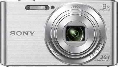 Image of Sony Cyber-Shot DSC-W830S Digital camera 20.1 MPix Optical zoom: 8 x Silver