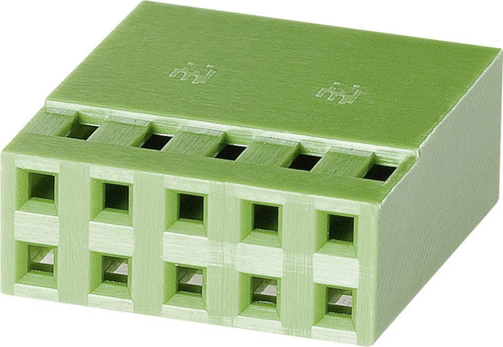 Tilslutningskabinet-kabel AMPMODU MOD IV Samlet antal poler 6 TE Connectivity 925367-3 Rastermål: 2.54 mm 1 stk