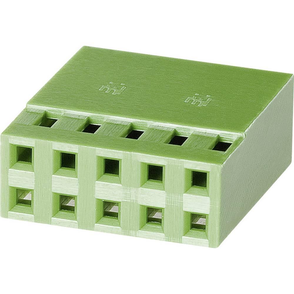 Tilslutningskabinet-kabel AMPMODU MOD IV Samlet antal poler 8 TE Connectivity 925367-4 Rastermål: 2.54 mm 1 stk