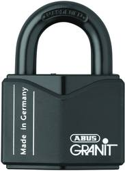 Hængelås ABUS ABVS00838 Black Nøglelås 63 mm