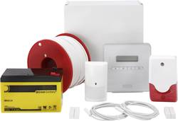Alarmanlægssæt ABUS Terson SX AZ4298 Alarmzoner 8X kablet forbindelse, 1x sabotagezon