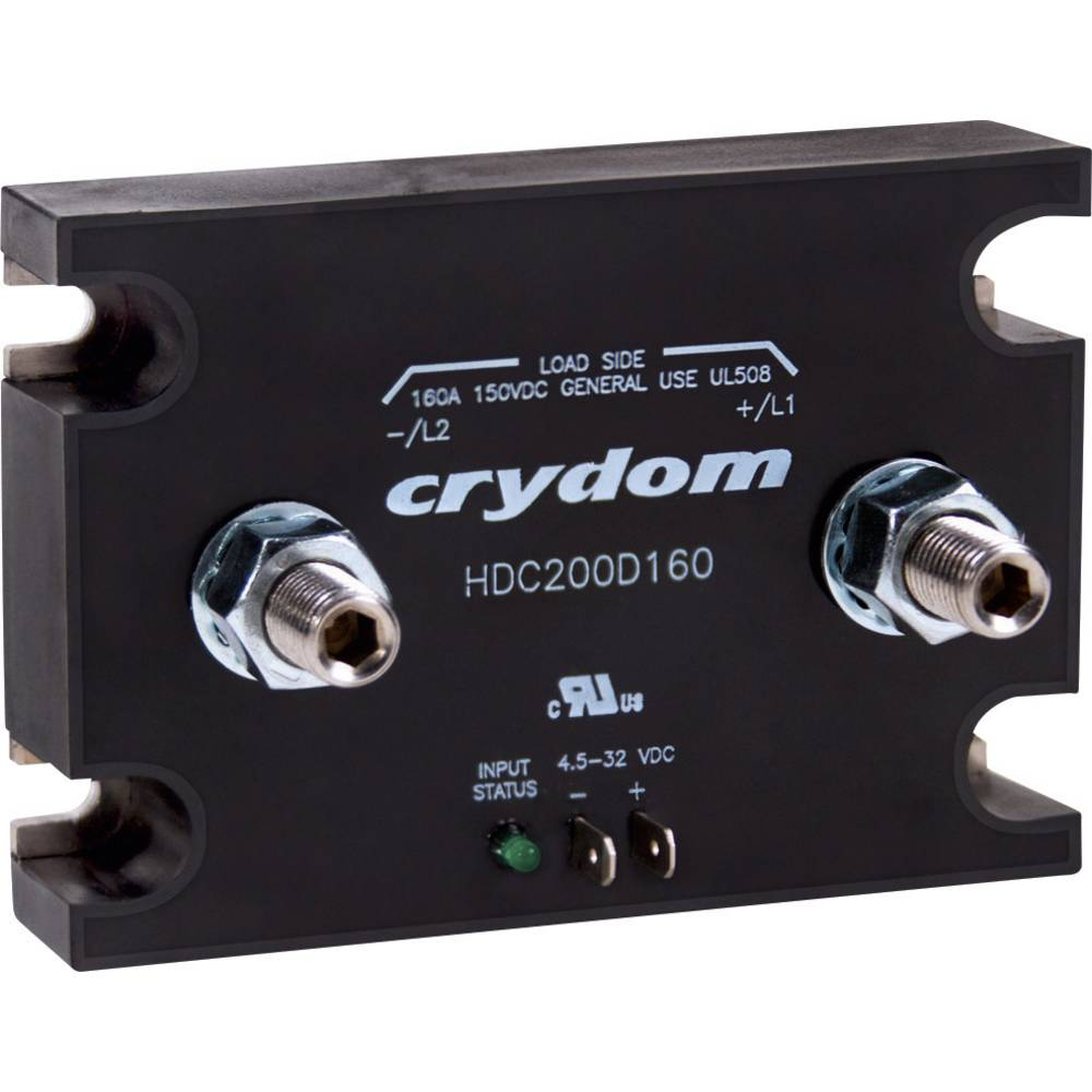 Jævnstrømsbeskyttelse 1 stk HDC60D160 Crydom 160 A