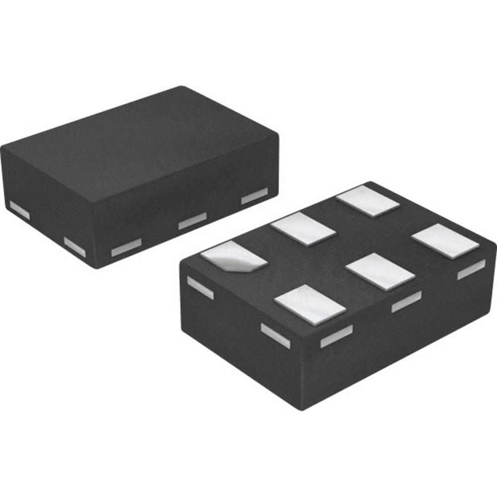 Supresor dioda NXP Semiconductors PESD5V0L4UF,115 vrsta kućišta XSON-6