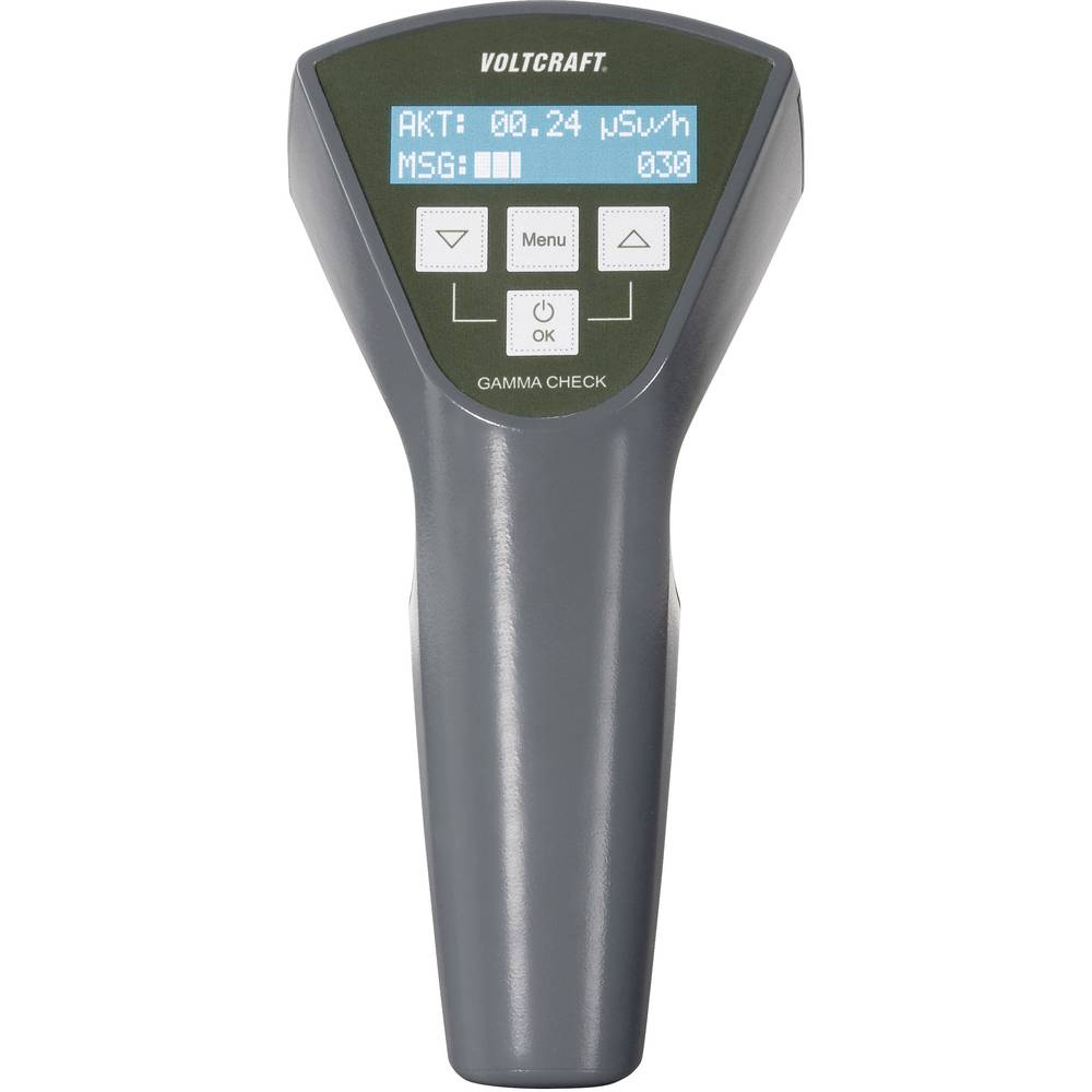 Voltcraft Gamma Check A Geiger Counter Radiation Incl Schematic Diagram Of My Computer Dosimeter