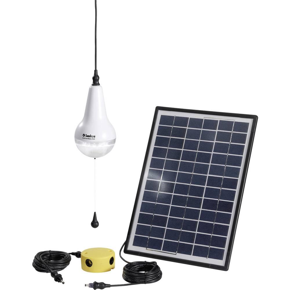 Solarni komplet s 4 žarulje, uklj. spojni kabel Sundaya Ulitium 200 Lightkit 1 303205 snaga 3 Wp