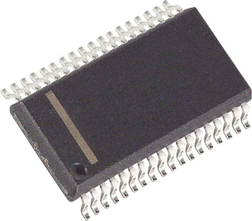 PMIC - grafikdriver Maxim Integrated MAX6954AAX+ LED 7-segmenter, 14-segmenter, 16-segmenter, Fælles katode. 8 cifre, 16 cifre V