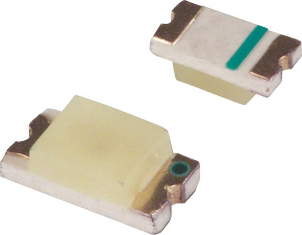 SMD LED LUMEX SML-LX1206GC-TR 3216 10 mcd 160 ° Grøn