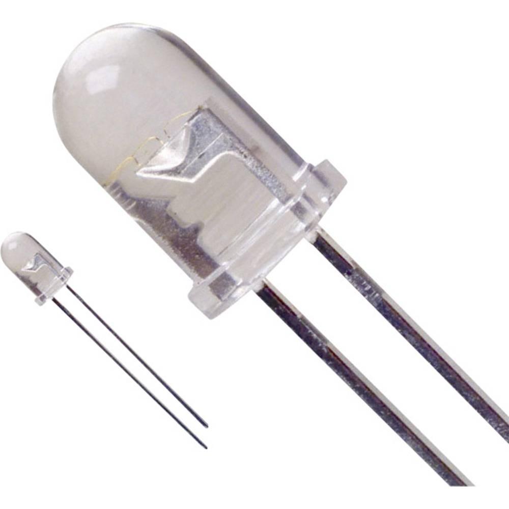 Ožičena LED dioda, bela, okrogla 5 mm 740 mcd 45 ° 30 mA 3.6 V LUMEX SSL-LX5093UWC/A