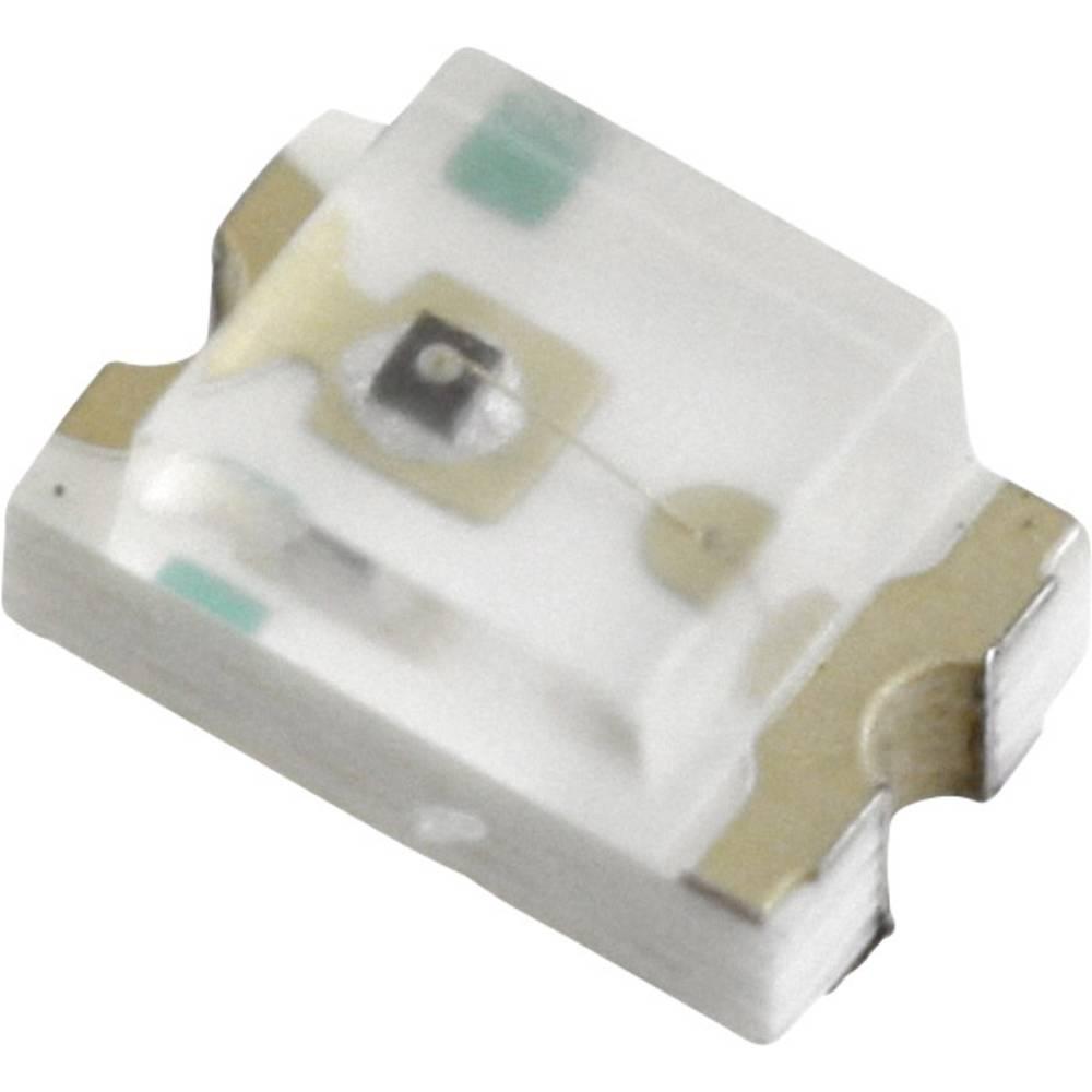 SMD LED LUMEX SML-LX0805IC-TR 2012 9 mcd 140 ° Rød