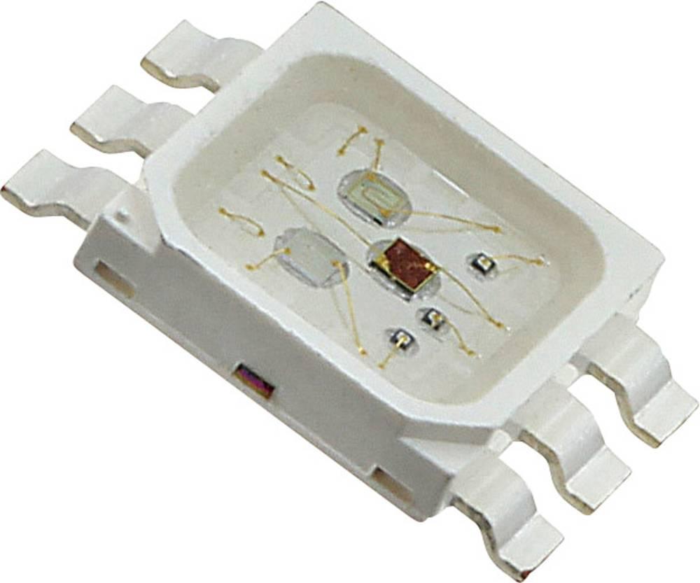 SMD LED LUMEX SML-LX5050SIUPGUBC PLCC6 3200 mcd, 6300 mcd, 1500 mcd 120 ° Rød, Grøn, Blå
