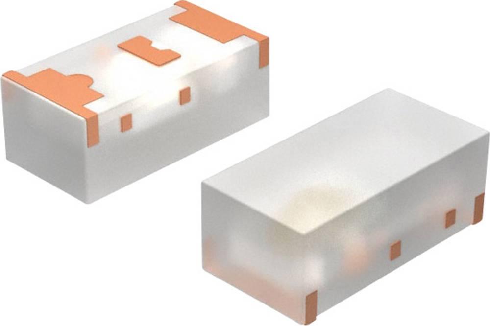 SMD LED Vishay 1608 5 mcd 160 ° Blå