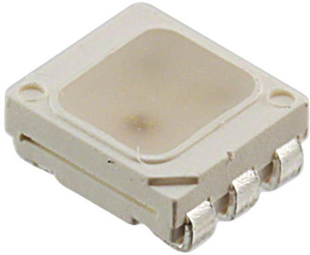 SMD LED Seoul Semiconductor SFT825N-S PLCC6 700 mcd, 1200 mcd, 400 mcd 120 ° Rød, Grøn, Blå