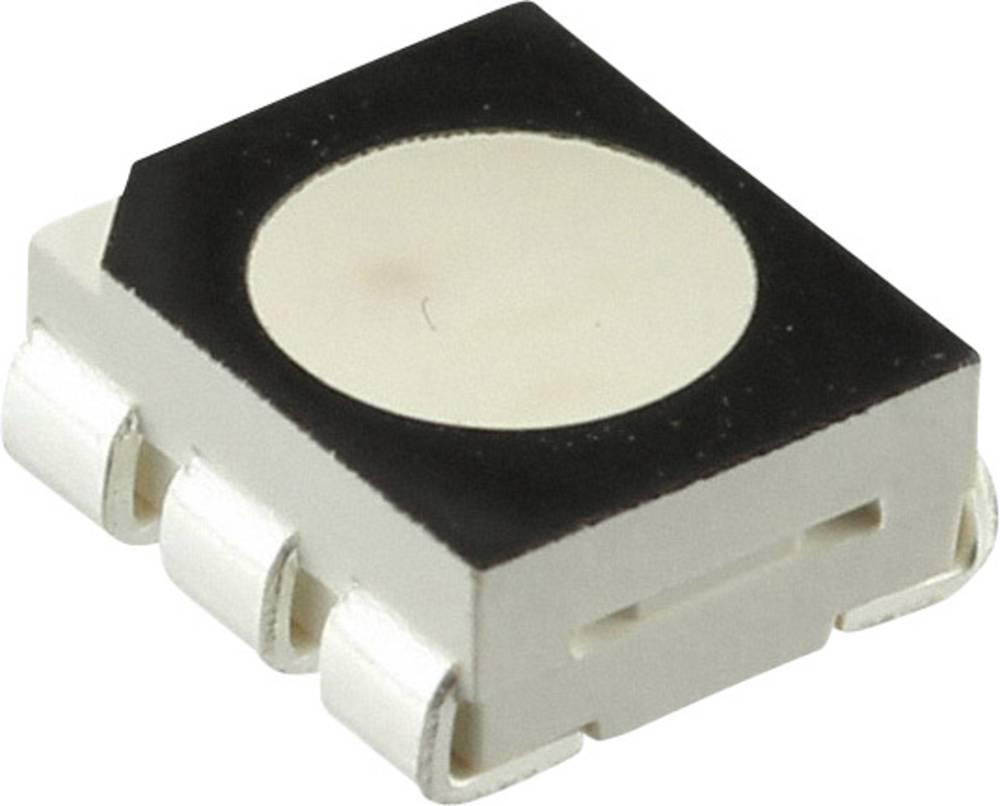 SMD LED CREE CLP6C-FKB-CM1Q1H1BB7R3R3 PLCC6 915 mcd, 1820 mcd, 457.5 mcd 120 ° Rød, Grøn, Blå