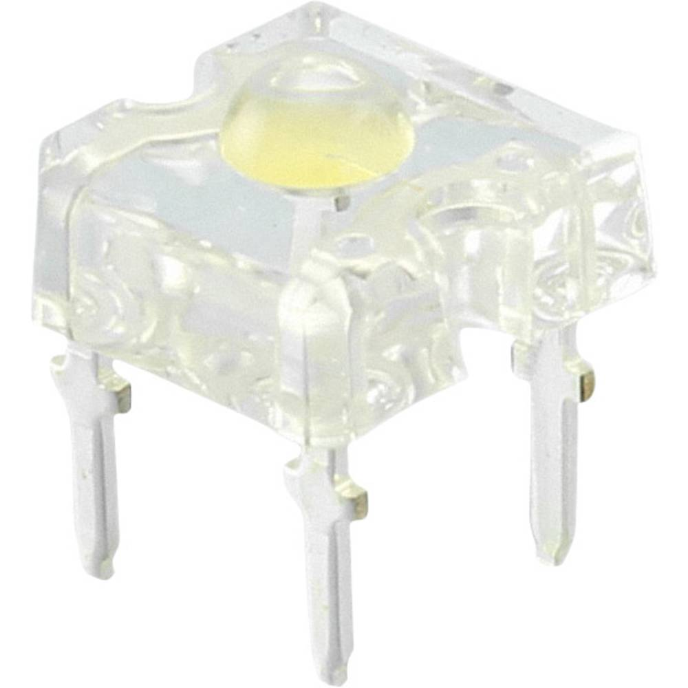 Ožičena LED dioda, hladno bela, okrogla 3 mm 3.0 cd 90 ° 35 mA 3.6 V CREE CP41B-WGS-CK0P0154