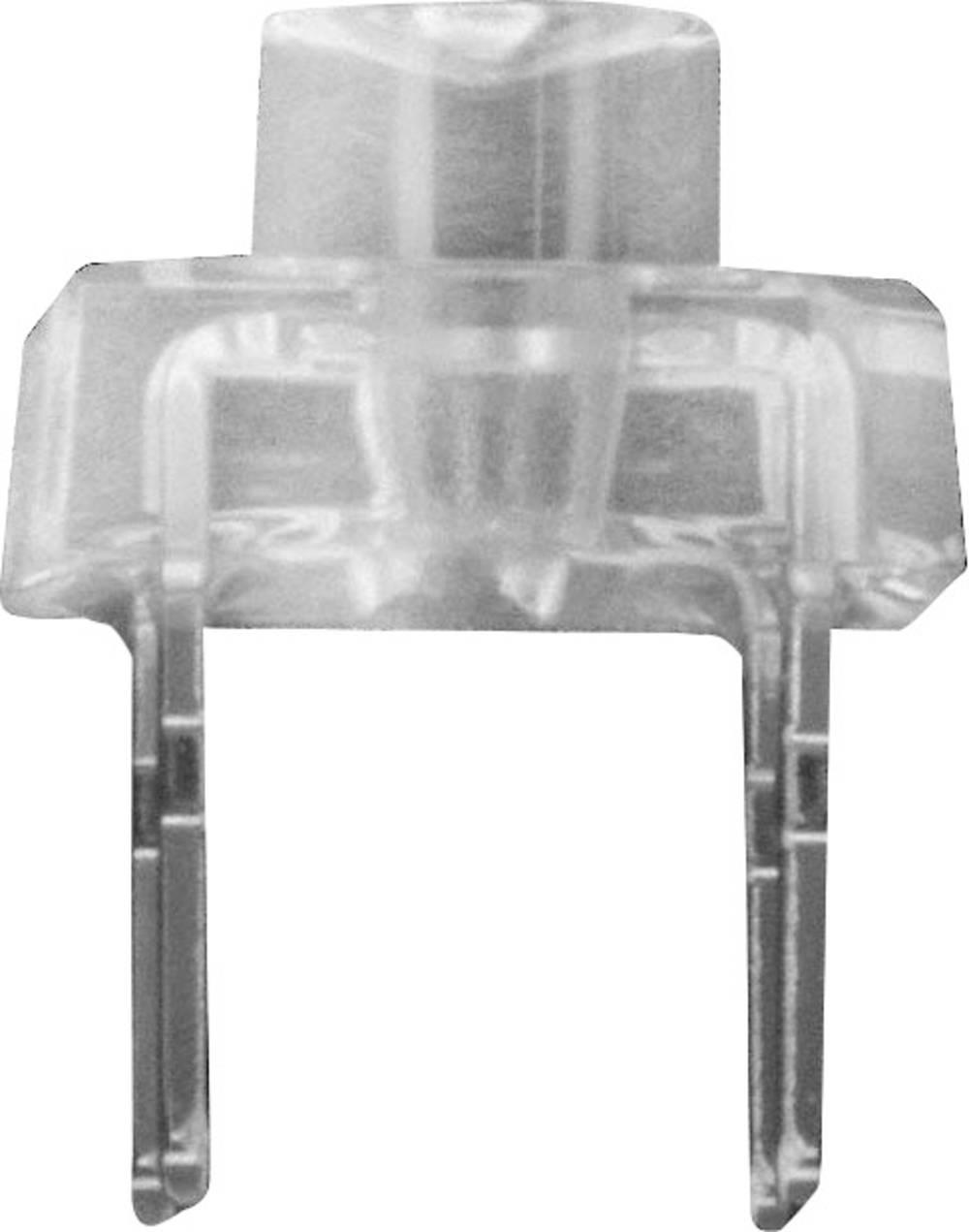 Ožičena LED dioda, jantarjeva, cilindrična 4 mm 120 ° 70 mA 2.5 V CREE CP42B-AKS-CM0Q0264