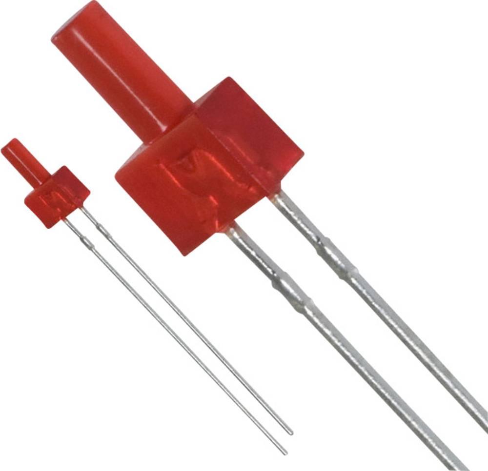 Ožičena LED dioda, rdeča, cilindrična 2 mm 0.6 mcd 25 mA 2.2 V Panasonic LN222RPX