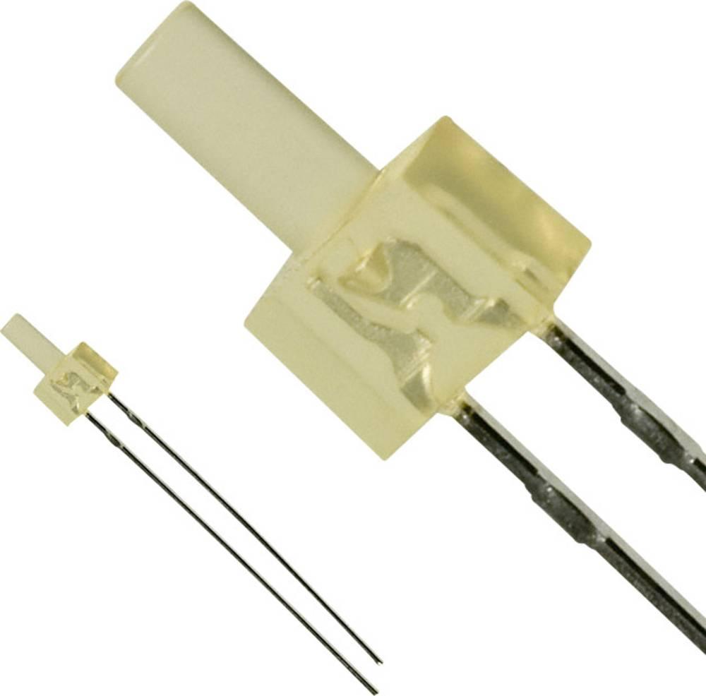 Ožičena LED dioda, jantarjeva, cilindrična 2 mm 4 mcd 30 mA 2.2 V Panasonic LNG422YKY