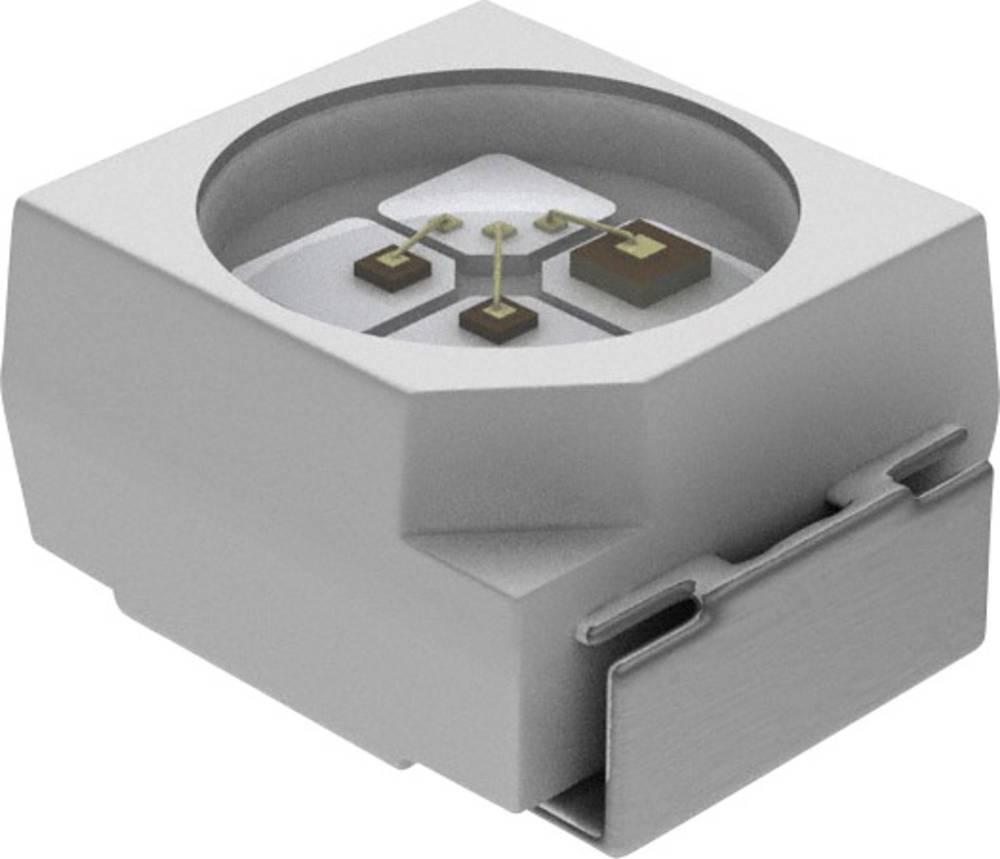 SMD LED Vishay PLCC2 50 mcd 120 ° Rød