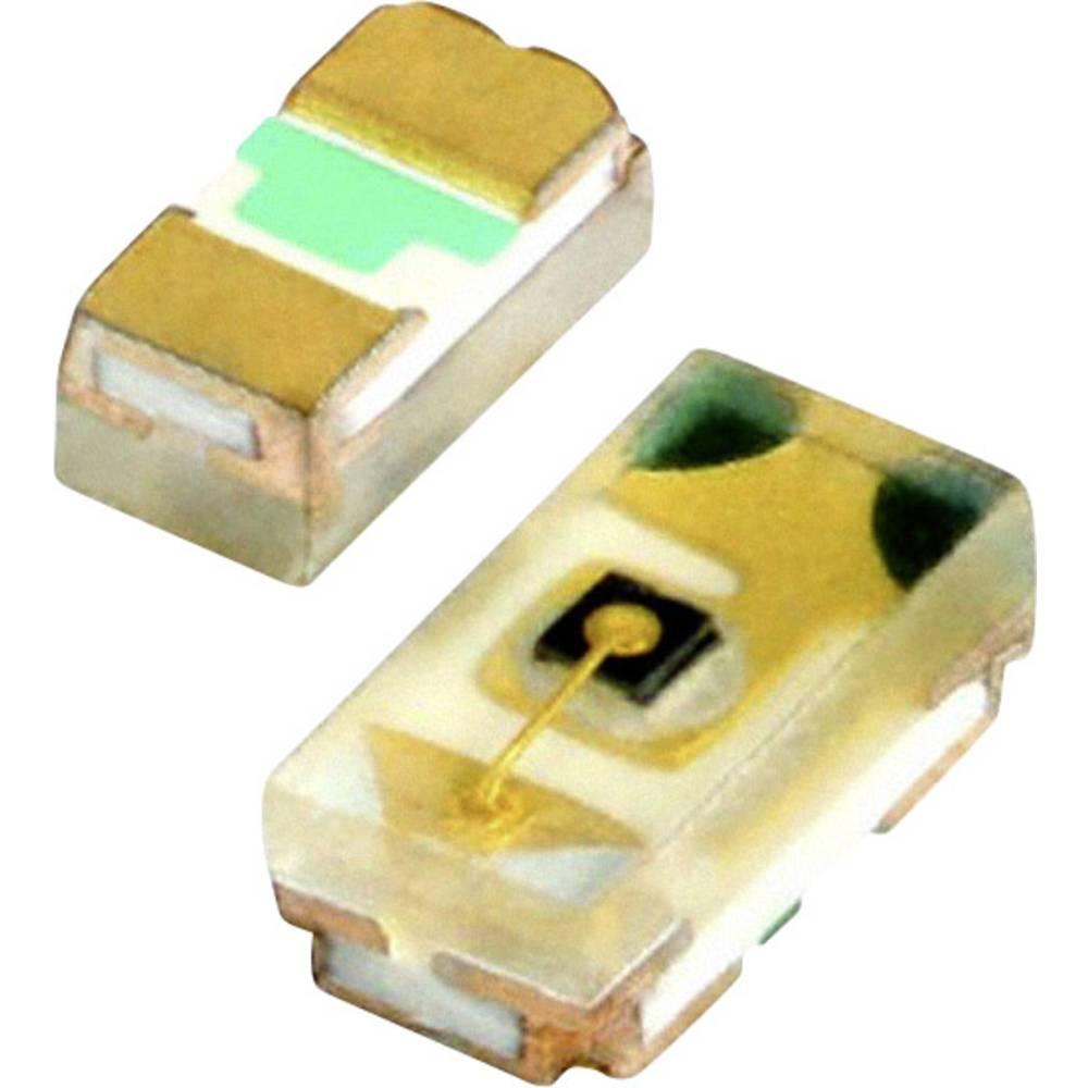 SMD LED Vishay VLMS1500-GS08 1005 54 mcd 130 ° Rød