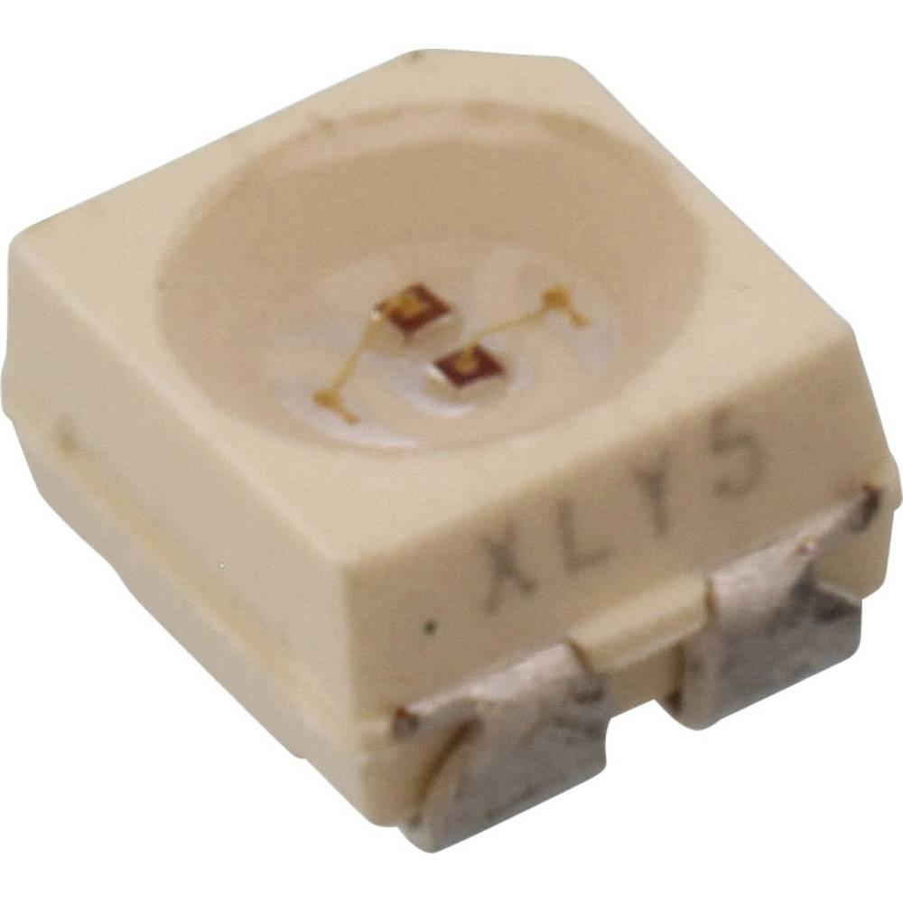 SMD LED Vishay VLMV3100-GS08 PLCC3 8 mcd, 10 mcd 120 ° Grøn, Rød