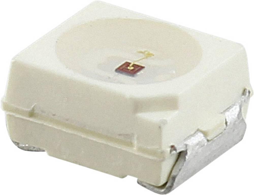 SMD LED Vishay VLMY334BACB-GS08 PLCC2 2300 mcd 120 ° Gul