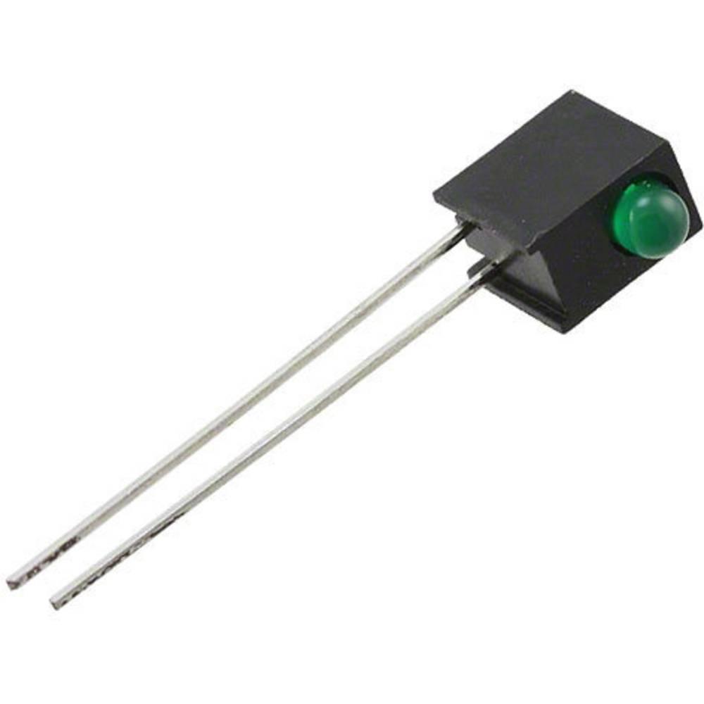 LED-komponent Everlight Opto (L x B x H) 30.9 x 3.15 x 3.15 mm Grøn