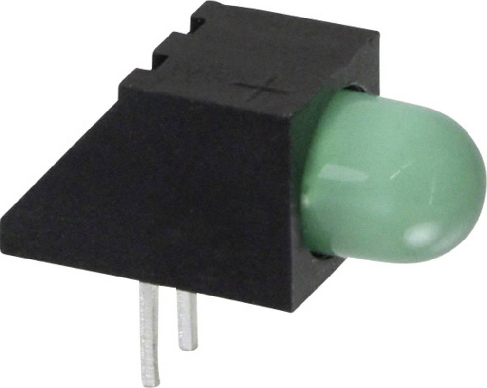 LED-komponent Everlight Opto (L x B x H) 13.67 x 6.22 x 6.22 mm Grøn