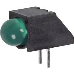 LED-komponent Dialight (L x B x H) 12.36 x 9.9 x 6.22 mm Grøn