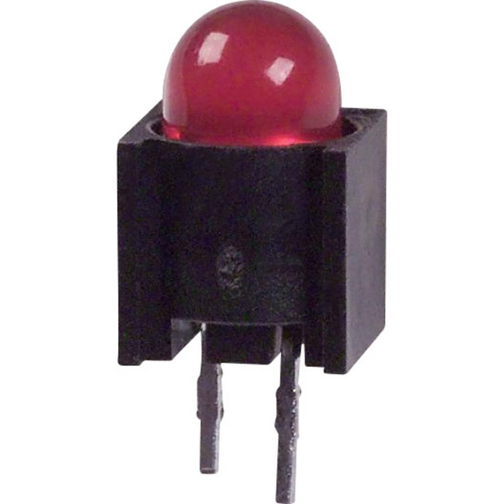 LED-komponent Dialight (L x B x H) 12.95 x 6.1 x 6.1 mm Rød