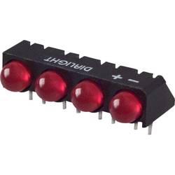 LED bånd Dialight (L x B x H) 25 x 12.41 x 9.6 mm Rød
