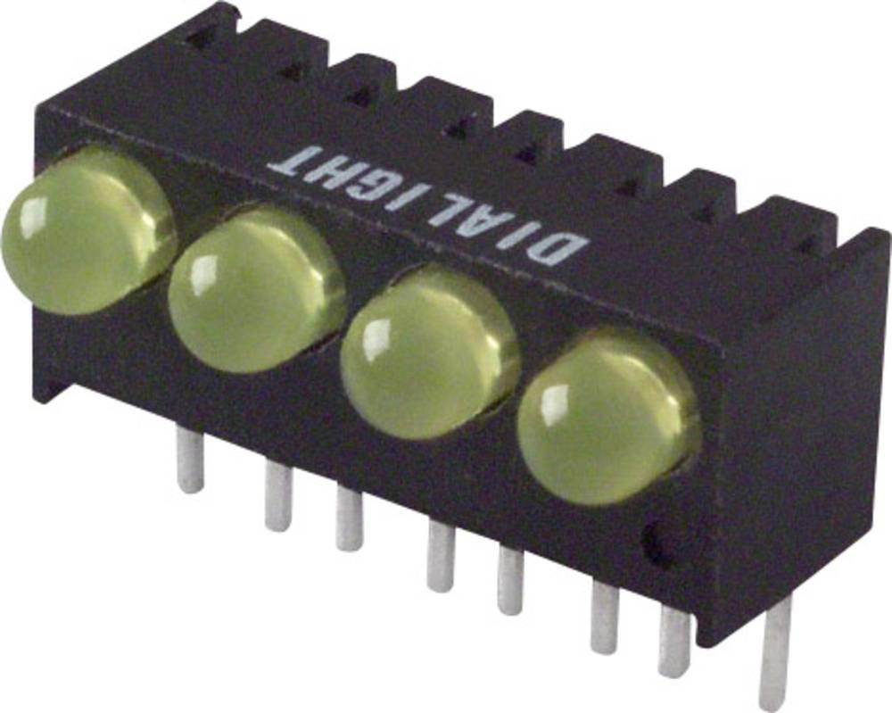 LED bånd Dialight (L x B x H) 17.27 x 10.78 x 8.89 mm Gul