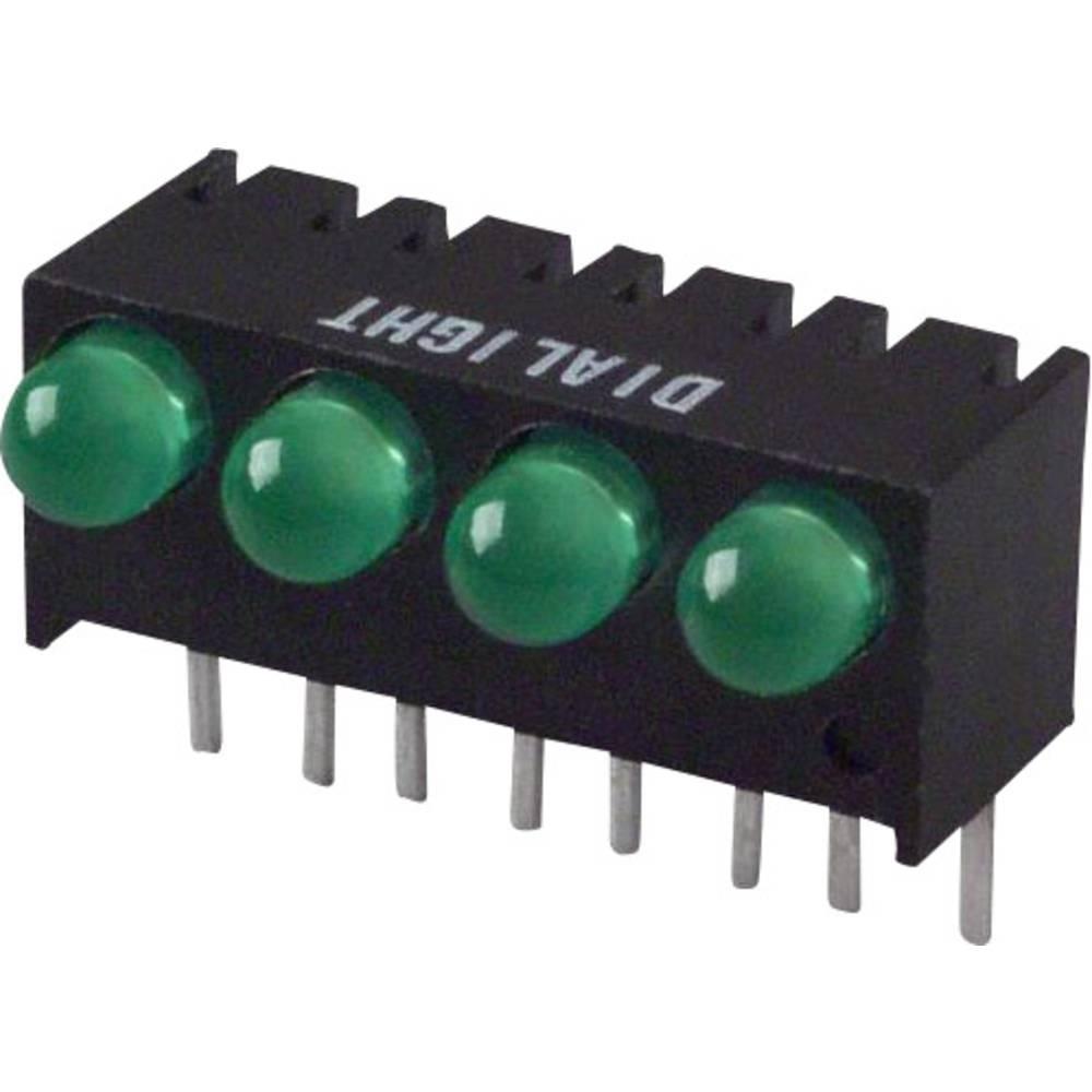 LED bånd Dialight (L x B x H) 17.27 x 10.78 x 8.89 mm Grøn