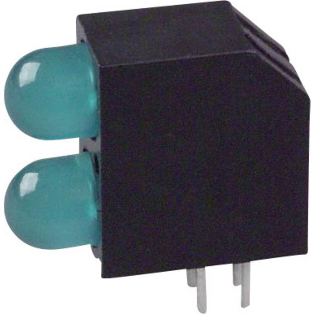 LED-komponent Dialight (L x B x H) 16.2 x 14.54 x 6 mm Grøn