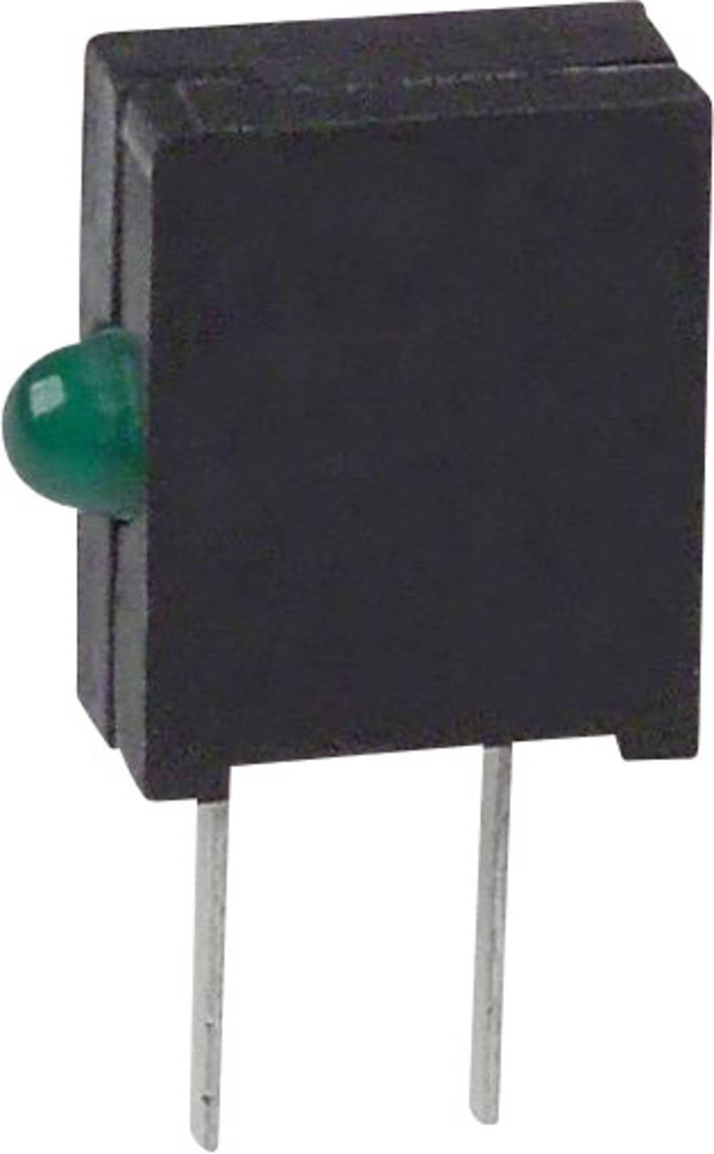 LED-komponent Dialight (L x B x H) 10.03 x 6.22 x 2.54 mm Grøn