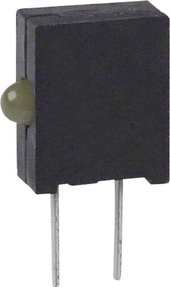LED-komponent Dialight (L x B x H) 10.03 x 6.22 x 2.54 mm Gul