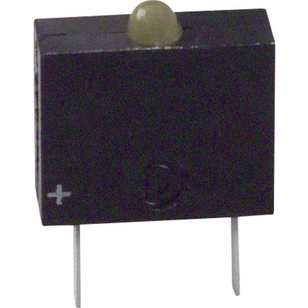 LED-komponent Dialight (L x B x H) 10.17 x 7.62 x 2.54 mm Gul