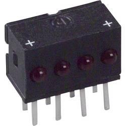 LED bånd Dialight 555-4001F (L x B x H) 10.29 x 10.03 x 6.22 mm Rød