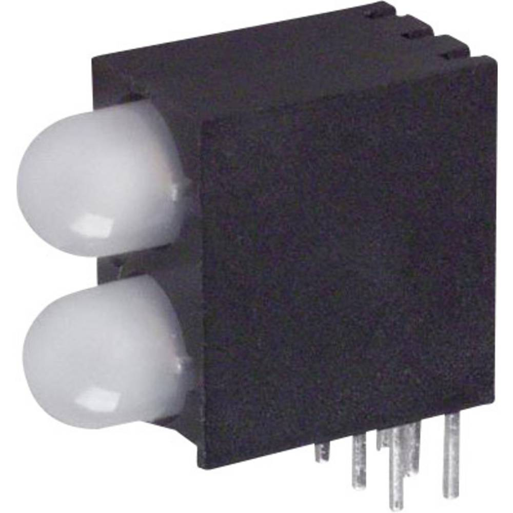 LED-komponent Dialight (L x B x H) 16.41 x 16.2 x 7.52 mm Grøn, Rød