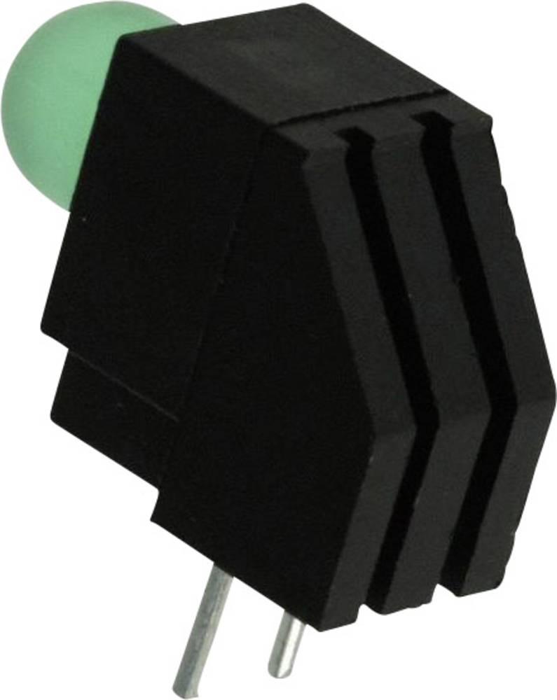 LED-komponent Dialight (L x B x H) 13.08 x 12.62 x 6.1 mm Grøn